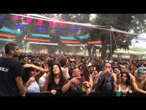 Bliss-The Weird and The Wacky+Small Talk Remix@Neverland Festival 2013 (Israel)