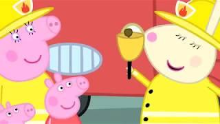 Peppa Pig Português Brasil 🚒 O CARRO DE BOMBEIRO 🚒Compilação ⭐️ Peppa Pig