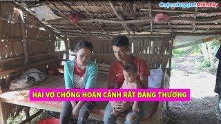 Hai Vợ Chồng trẻ và con nhỏ ở trong chòi nhỏ rất thương tâm | Cuộc Sống Quê Miền Tây 8/7/2019