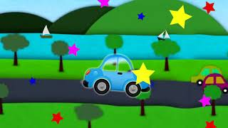 Learn Colors with Cars And Ships for Kid Children