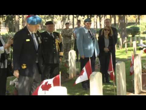 Canadian Veterans Visit Cyprus to Pay Respects 19.03.14