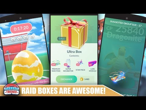 NEW EVENT BOXES!! ARE THEY WORTH THE BUY?! POKEMON GO