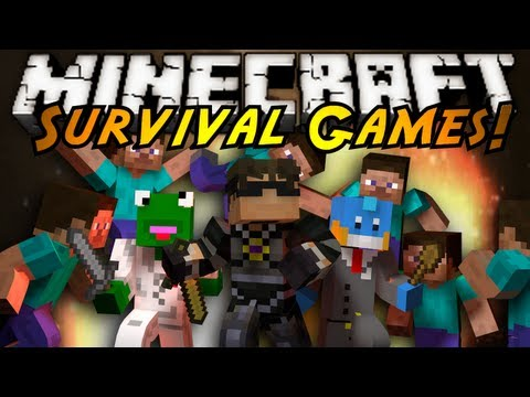 Minecraft Mini-Game : SURVIVAL GAMES!