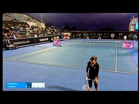 Monica Niculescu vs Heather Watson - Match Resumption