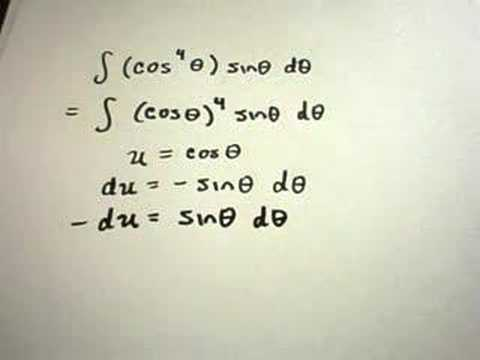 Integration using U-Substitution