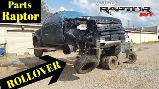 Rebuilding a Wrecked 2011 Ford Raptor SVT bought from Copart Part 5