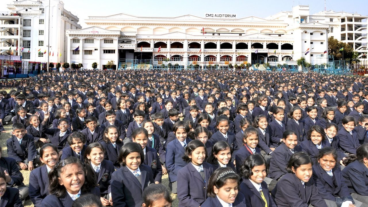 Biggest School In the World City Montessori India YouTube