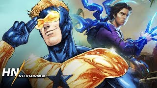 Booster Gold Rumored to Cameo in Blue Beetle Film