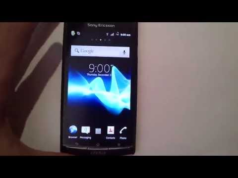 android 2.3.7 on Xperia arc S X-GAMER