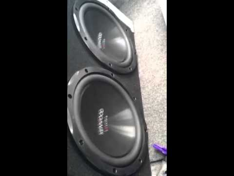 Kenwood sub and amp