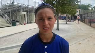 Intervista ad Alessandra Rotondo dopo la sofferta vittoria contro il Brasile