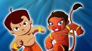 Chhota Bheem aur Bajrangi  - Ek Saath | Hanuman in Dholakpur