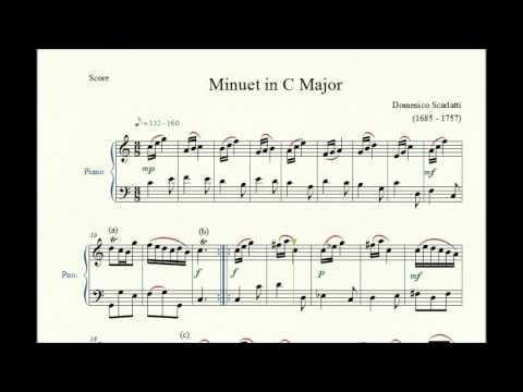 Скарлатти Доменико - Minuet 2