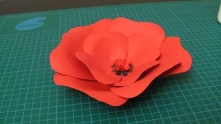 Diy - Poppy Flower Made ​​of Paper