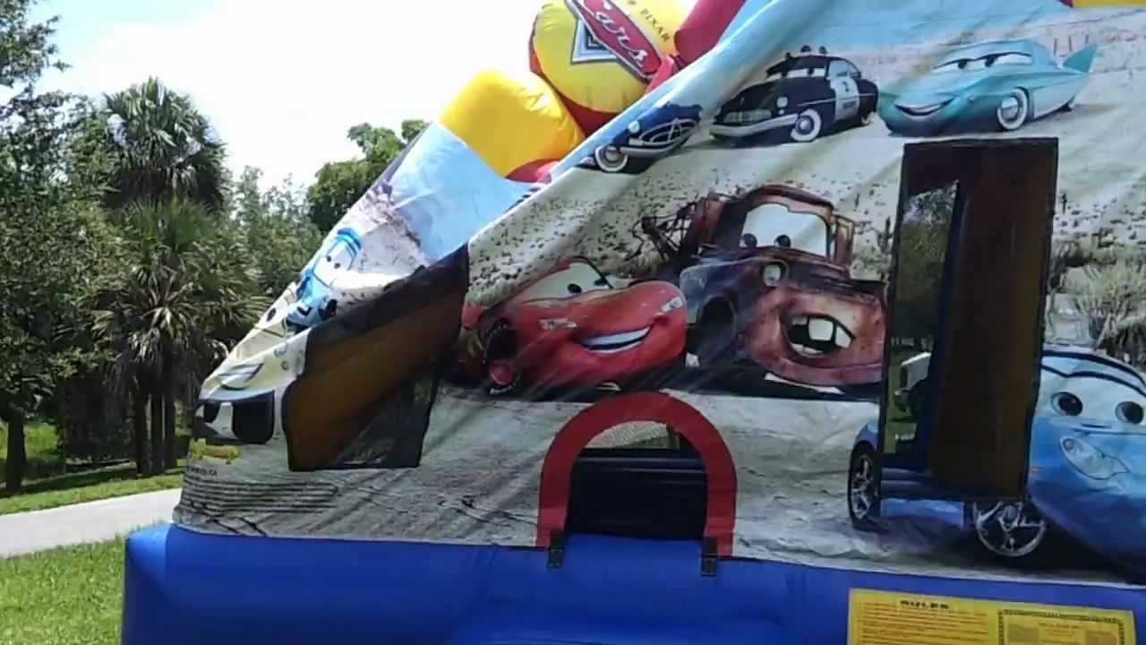 Cars Bounce Houses Car Bounce House of Lightning