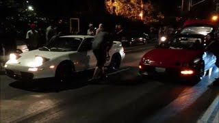 mr2 turbo vs streetbuilt's integra turbo