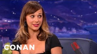 Rashida Jones Is The Classy American Abroad - CONAN on TBS