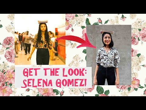 I DRESSED LIKE SELENA GOMEZ FOR A WEEK| GET THE LOOK| SONIA GARG thumbnail
