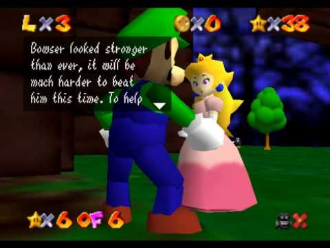 Lets Play Super Mario 64 The missing stars part 9: Bowser when are you going to throw in the towel