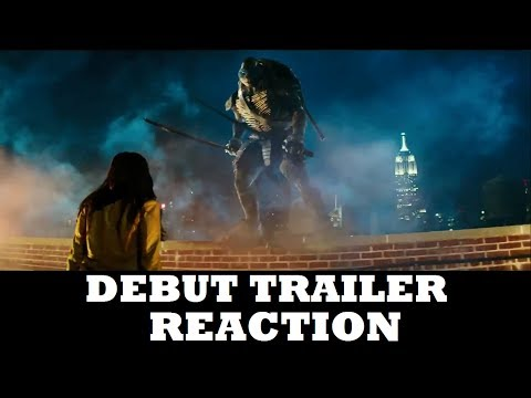 Teenage Mutant Ninja Turtles (2014) - Official Trailer (REACTION)