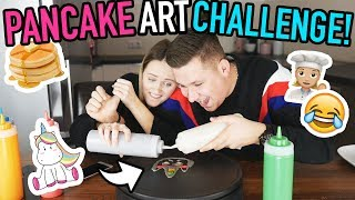 PANCAKE ART Challenge - Mone vs Kobe🥞🦄 | Backen mit Mone
