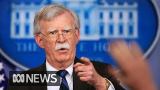 Donald Trump fires national security adviser John Bolton | ABC News