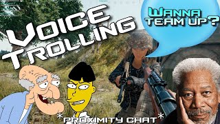 PUBG Proximity Chat VOICE CHANGER (Funny Moments)