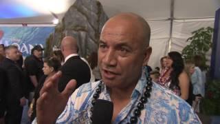 """Moana """"Chief Tui"""" World Premiere Interview - Temuera Morrison"""