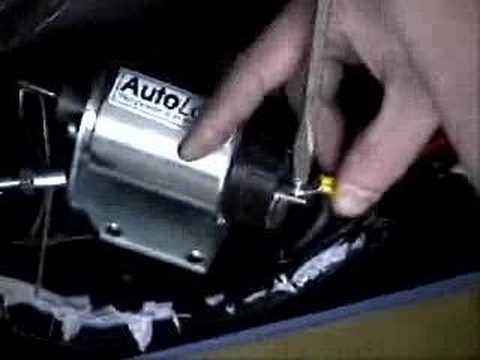 AutoLoc� Solenoid Installation