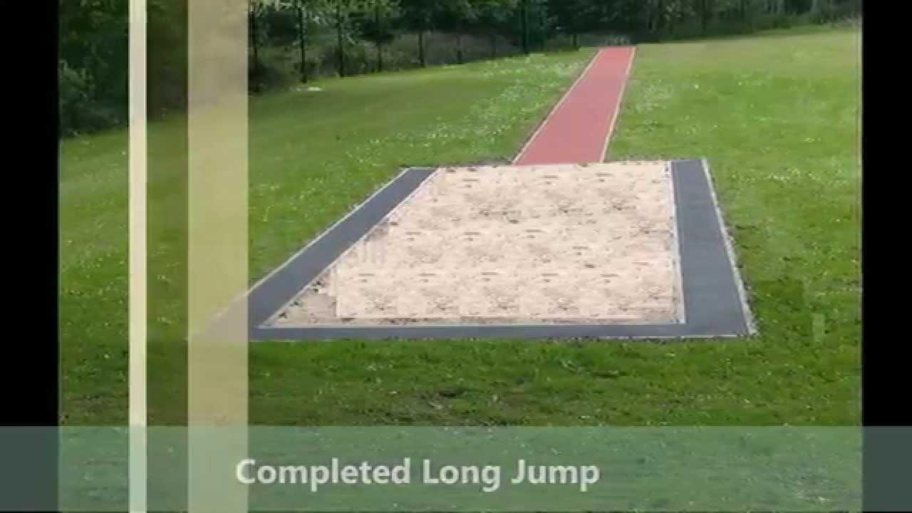 Long Jump Pit Long Jump Runway And Sandpit