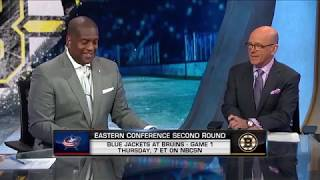 NHL Tonight: Previewing Round 2 Between the Blue Jackets and Bruins (Apr. 24, 2019)