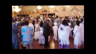 Spectacular Ethiopian wedding in Seattle at the China Harbor  (Jara Assefa and Frewoini Tesfay)