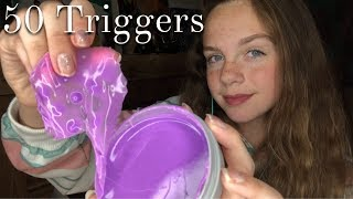 ASMR 50 Triggers in 50 Minutes