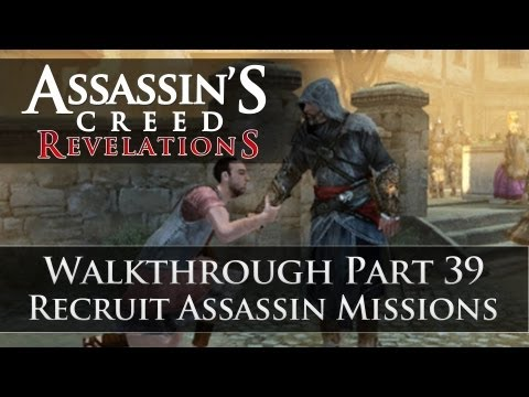 Assassins Creed - Revelations 100% Sync Walkthrough Part 39 (Recruit Assassin Missions)