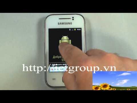 ... cài đặt gốc nhà sản xuất Samsung Galaxy Y S5360 hard reset