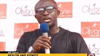 Health And Fitness - AM Sports on Joy News (1-3-17)
