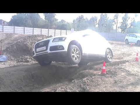Audi Q drive . Off-road experience