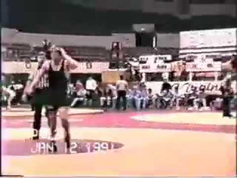 Tom Brands (Iowa) vs Chad Dubin (Penn State) 1991