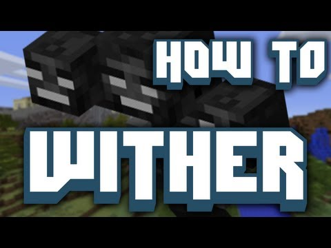 ► Minecraft: How to Make a Wither! (Snapshot 12w36a)