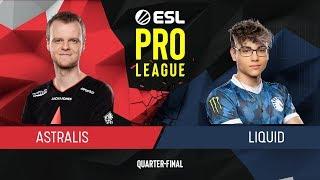 CS:GO - Liquid vs. Astralis [Inferno] Map 2 - Quarter-Final - ESL Pro League Season 9