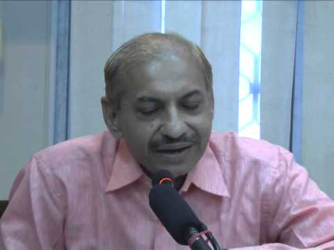 Dr. Harshdev Madhav In Rajasthan Sanskrit Academy Part 1 video