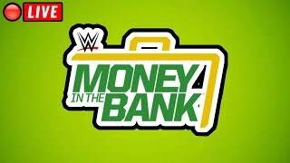 🔴 WWE Money In The Bank 2018 Full Show Live Stream - live reactions - June 17, 2018