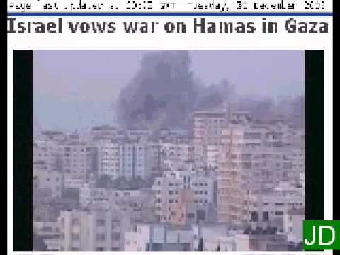 Israel vows war on Hamas in Gaza