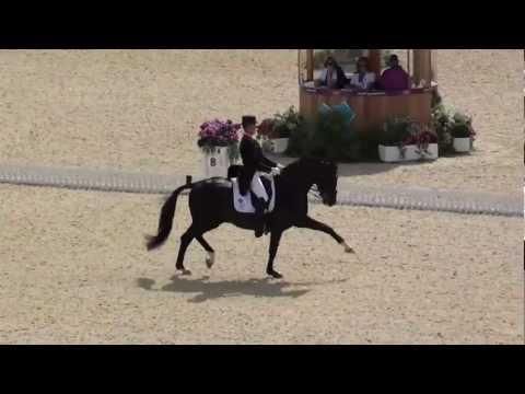 Carl Hester & Uthopia (Great Britain) - Kür London Olympics 2012