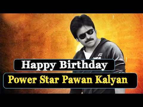 Wishing Power Star Pawan Kalyan A Very Happy Birthday