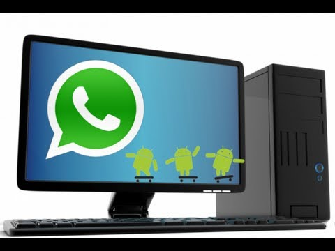 How to Install WHATSAPP on PC [2015]