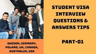 Student Visa Interview Questions & Answers Tips for Bangladeshi Students | Study World BD