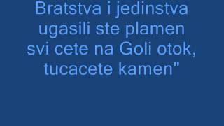 Dubioza kolektiv Brijuni - Lyrics GOVNA POLITICKA