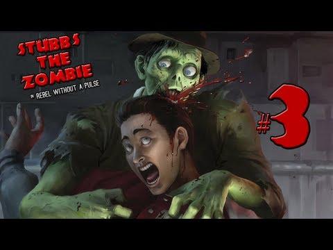Stubbs the Zombie - часть 3: Ползущая рука