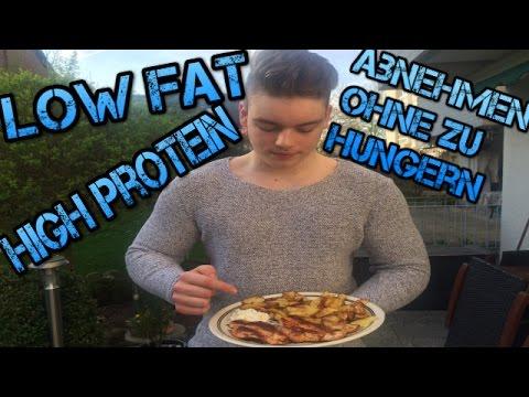 PERFEKTES DIÄT REZEPT LOW FAT Gesund abnehmen!